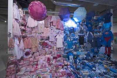 JeongMee Yoon, 'Pink Space & Blue Space', 2019