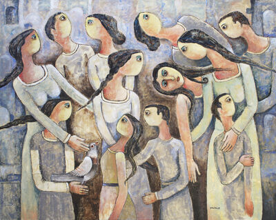 Nabil Anani, 'Demonstration #1', 2016