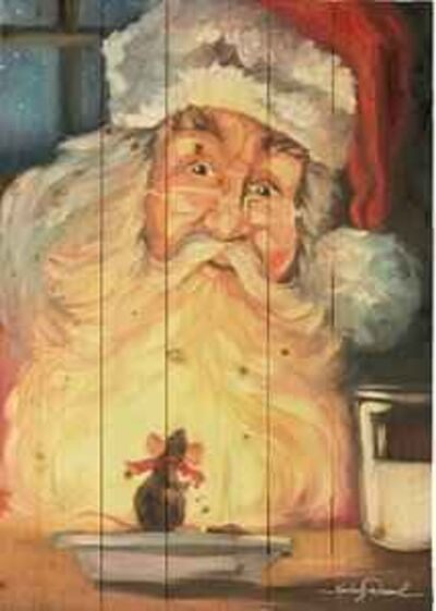 Kimberly Daniels, 'Christmas Snack - Santa Claus', Unknown