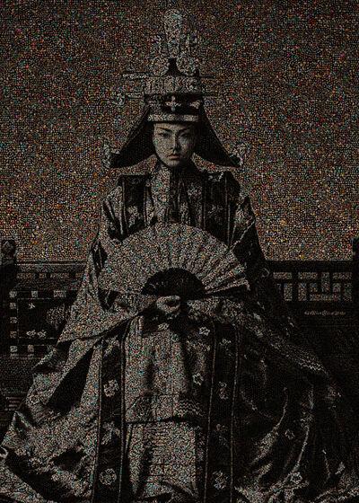 Chongil Woo, 'Joseon Dynasty Royal family series, Empress #10', 2015