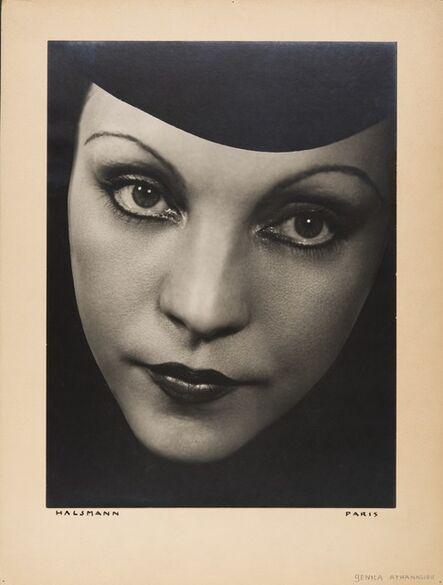 Philippe Halsman, 'Génica Athanasiou', 1934