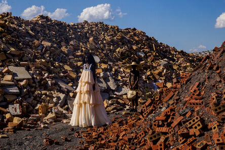 Yannis Davy Guibinga, 'The First Woman III', 2020