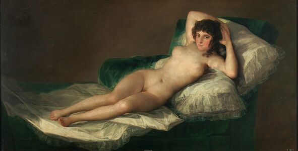 Francisco de Goya, 'The Nude Maja', ca. 1800