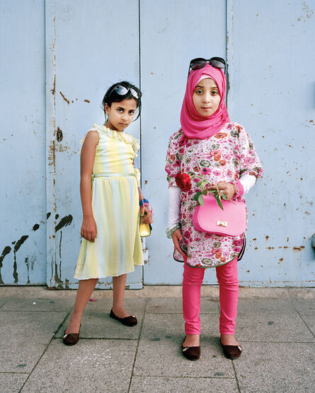 Rania Matar, 'Darine 7 and Dania 8, Beirut Lebanon', 2014