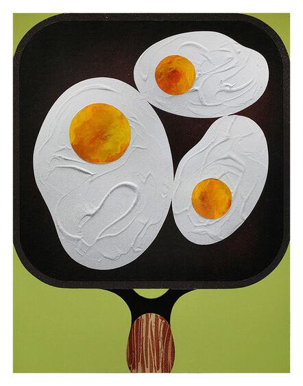 Casey Gray, 'Three Fried Eggs', 2017