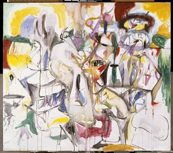 Arshile Gorky, ' How My Mother's Embroidered Apron Unfolds in My Life', 1944