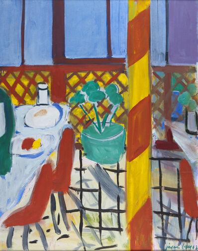 Jason Berger, 'Red Cafe', ca. 1978
