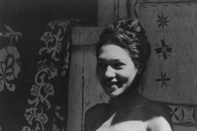 Walker Evans, 'Portrait of a Woman, Tahiti', 1932
