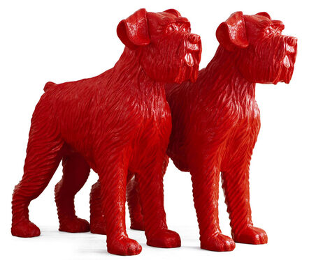 William Sweetlove, 'Cloned red dogs', 2006