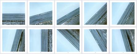 Jan Dibbets, 'Sea 0° - 135°', 2009