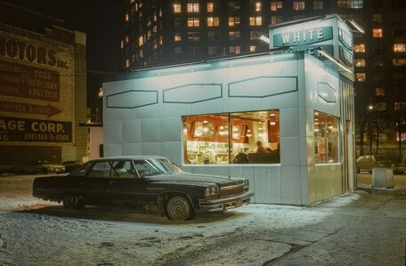 Langdon Clay, 'White Tower Car, Buick LeSabre, Meatpacking District', 1976