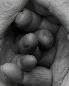 John Coplans, 'Interlocking Fingers No 17', 2000