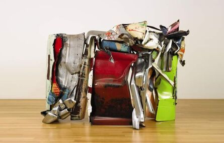 John Chamberlain, 'Wandering Bliss Meets Fruit of the Loom a.k.a. America on Parade', 1980