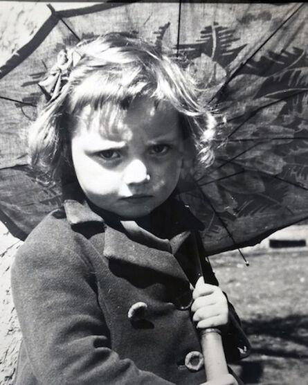 Vivian Maier, 'Girl with Umbrella'