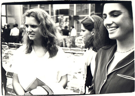 Andy Warhol, 'Andy Warhol, Photograph of Barbara Allen and Two Women at Halston Fashion Show, 1979', 1979