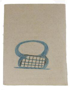 Bill Traylor, 'Figure 8 Basket', 1939