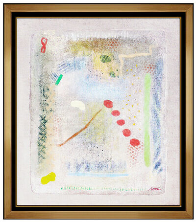 Robert Natkin, 'Robert Natkin Large Original Acrylic Painting On Canvas Signed Color Field Art', 1970