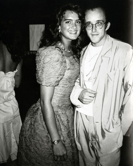 Andy Warhol, 'Brooke Shields and Keith Haring ', 1983
