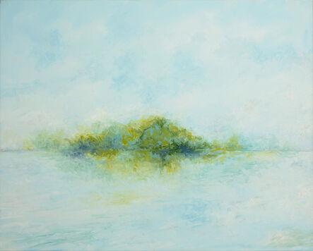 Kirby Fredendall, 'Dissolving Island Blue ', 2020
