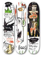 Jean-Michel Basquiat, 'Quality Meats for Public', 2014