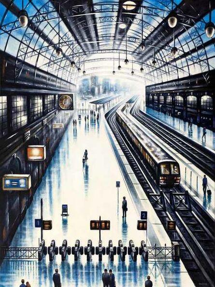 John Duffin, 'Coastal Trains - Victoria Station', 2020