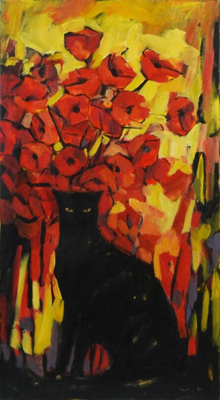 Reiner Karge, 'The Black Cat', 1991