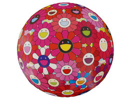 Takashi Murakami, 'Flowerball (3D) - Letter to Picasso', 2014