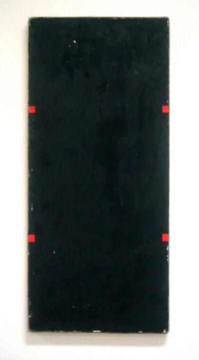 Otis Jones, 'Black Rectangle with Four Red Rectangles', 2011