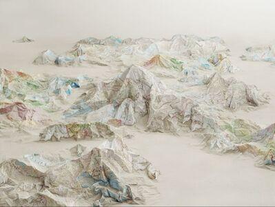 Ji Zhou, 'Map 2', 2013
