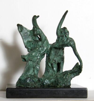 Reuben Nakian, 'Leda and the Swan (Green)', 1978