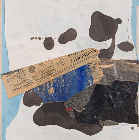 Morris Barazani, 'Collage #16', 1964