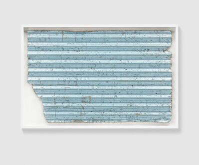 Rachel Whiteread, 'Untitled (Corrugated Blue)', 2017