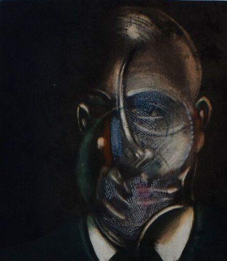 Francis Bacon, 'Portrait of Michel Leiris,', 1976/78