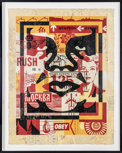 Shepard Fairey, 'Icon Collage (Middle)', 2016