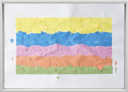 Rodrigo González Castellanos, 'Desgaste de la psicología del color, Amabilidad', 2020