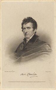 James Thomson possibly after John Jackson, 'Antonio Canova', published 1822