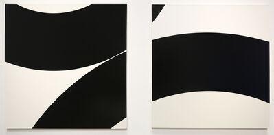 Nassos Daphnis, 'Left: 4-A-78 Right: 4-B-78', 1978