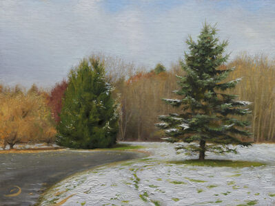 Joseph Q. Daily, 'A Dusting of Snow', 2020