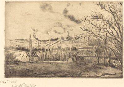 Camille Pissarro, 'View of Pontoise (Vue de Pontoise)', 1885