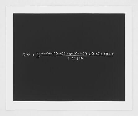 Freeman Dyson, 'Concinnitas: The MacDonald Equation', 2014