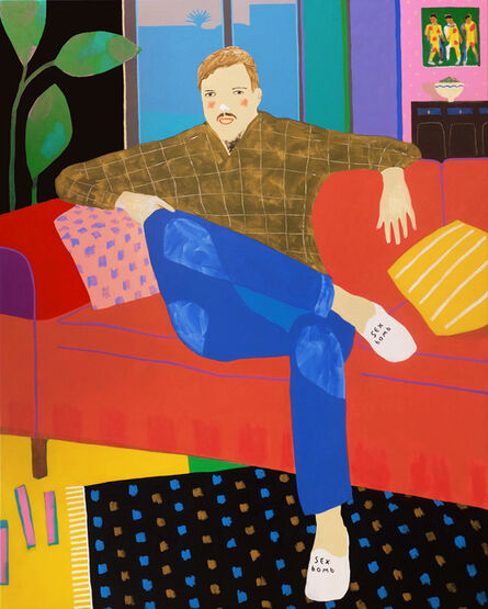 Alan Fears, 'Complimentary Slippers', 2018