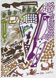 Carlo Zinelli, 'untitled', 1969