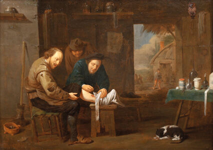 David Teniers the Younger, 'The Leg Surgery', 1680
