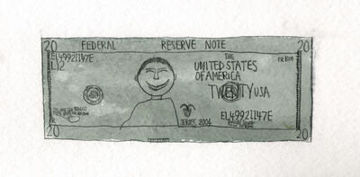 James Miles, 'Untitled (One Dollar)', 2009
