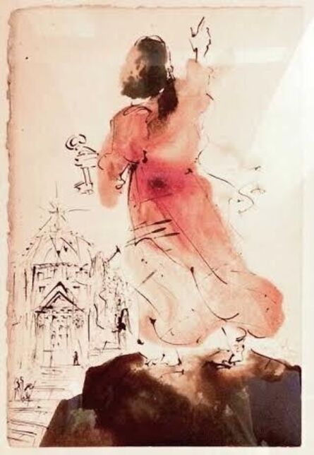 Salvador Dalí, ' Tu es Petrus (You are Peter) from Biblia Sacra Series.', 1964