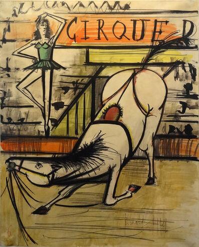 Bernard Buffet, 'Le cirque, l'écuyère', 1966