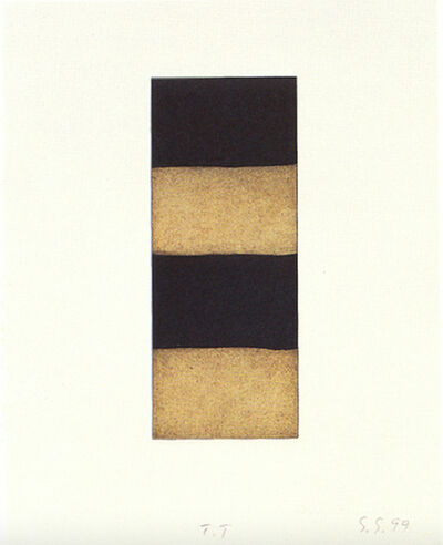 Sean Scully, 'Ten Towers X', 1999