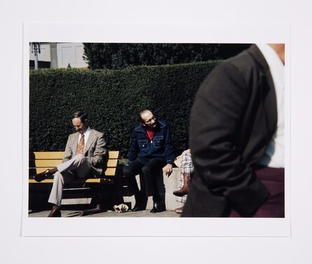 Lynn Hershman Leeson, 'Roberta and Blaine in Union Square, Untitled, Roberta Missing', 1975