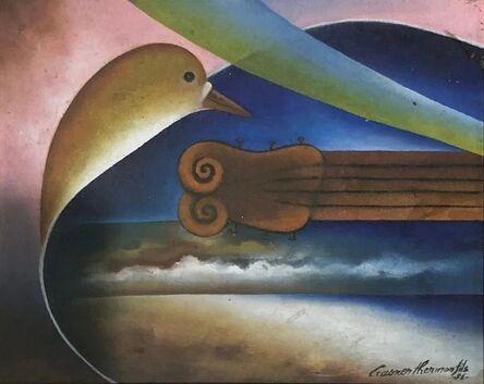 Gasner Thermonfils, 'Bird & Guitar', 1996