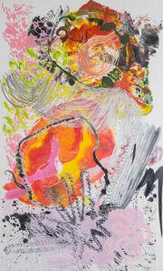 Wu Jian'an 邬建安, '500 Brushstrokes #58 五百笔 #58', 2019